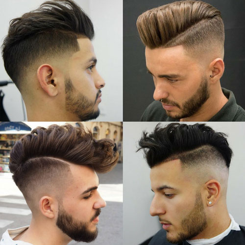 Short Sides Long Top Hairstyles with The Undercut