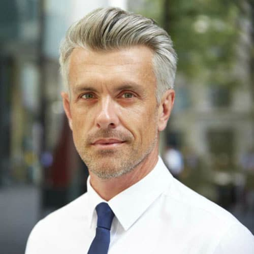 Silver And Grey Hair For Men