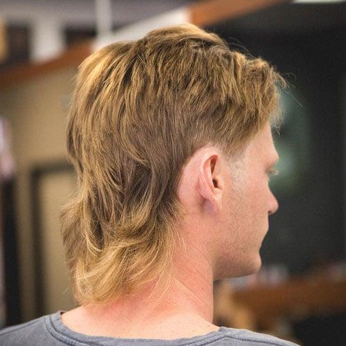 Straight Hair Mullet