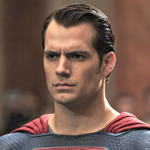 Superman Haircut - Henry Cavill, Comb Over