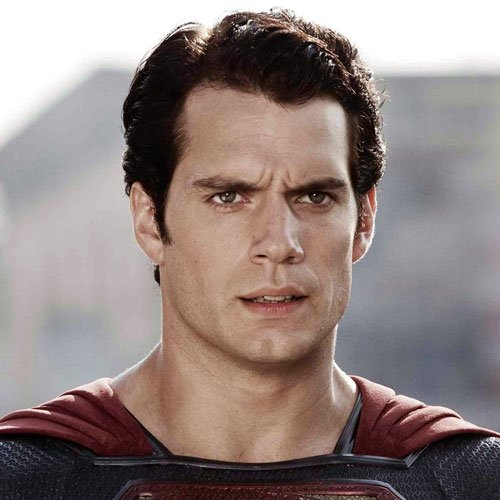 Superman Haircut Style - Long Messy Textured Hair
