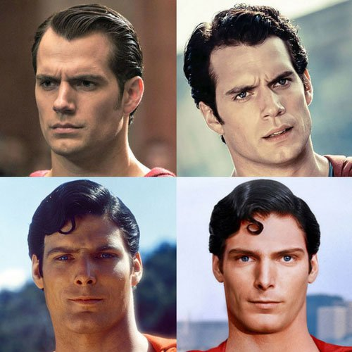 Superman Haircut