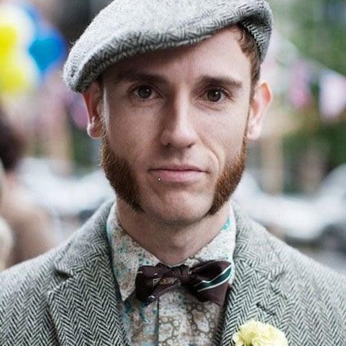 Thick Sideburns - Mutton Chops Beard