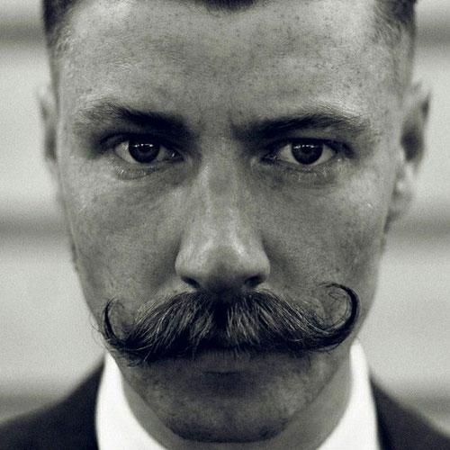Vintage Handlebar Mustache
