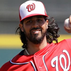 Gio Gonzalez - Long Flowing Hair