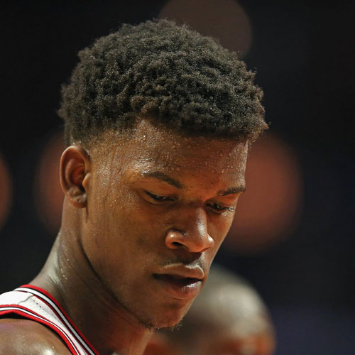 Jimmy Butler Haircut - Low Burst Fade + Short Afro