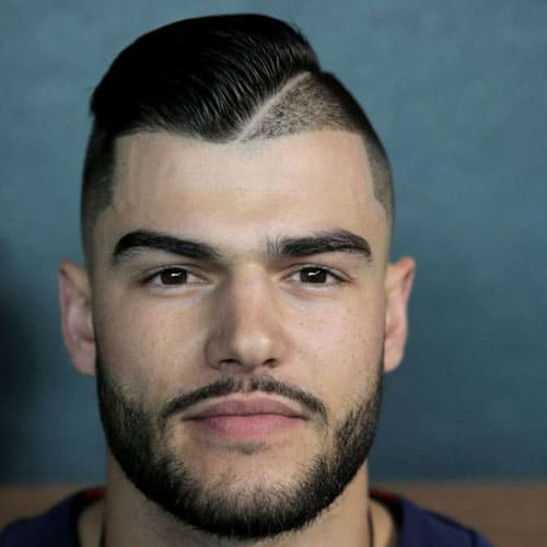 Lance McCullers Jr. - Undercut with Hard Part Comb Over