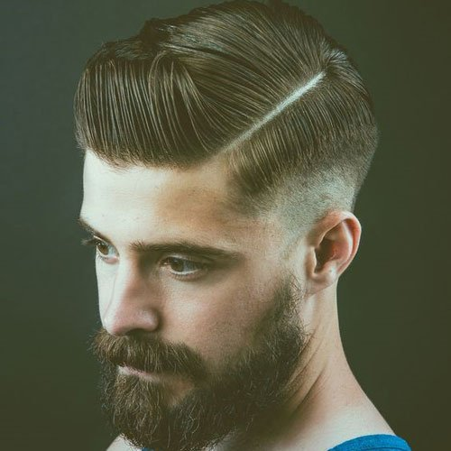 Modern Side Part Haircut