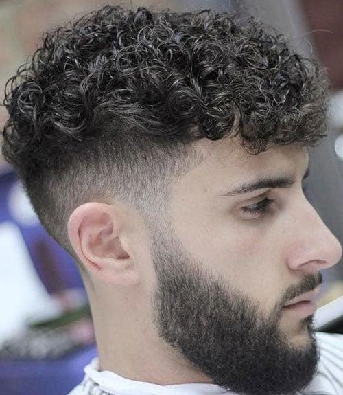 Mushroom Haircut For Curly Hair