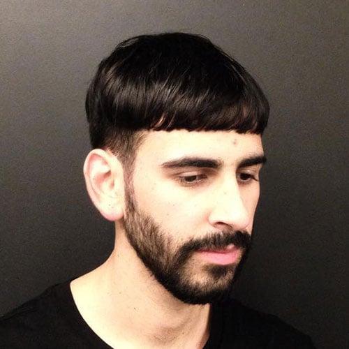 Mushroom Top + Low Taper Cut