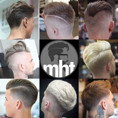 Back of Men's Haircuts