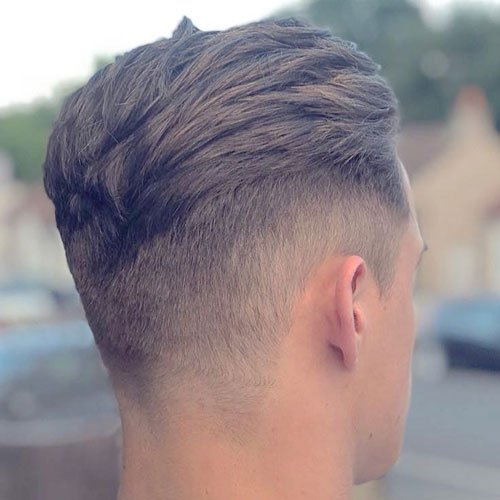 Best Short Sides and Back Haircuts - High Taper Fade + Thick Textured Slicked Back Hair