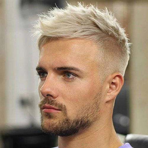 Bleached Hair For Men 2018