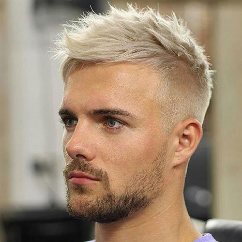 Bleached Hair For Men 2019 Men S Hairstyles Haircuts 2019