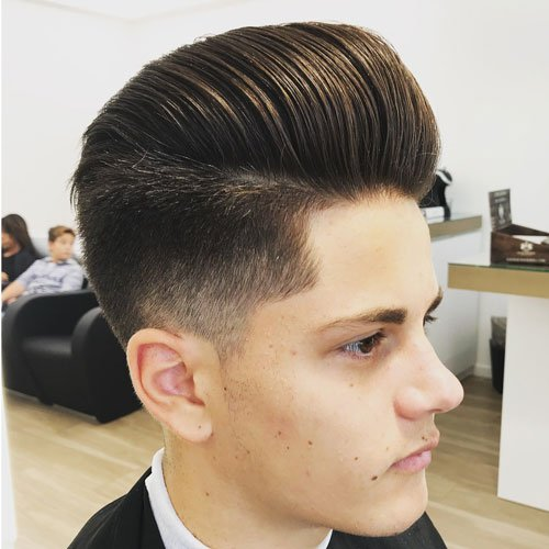 21 Best Pompadour Fade Haircuts (2019 Guide)