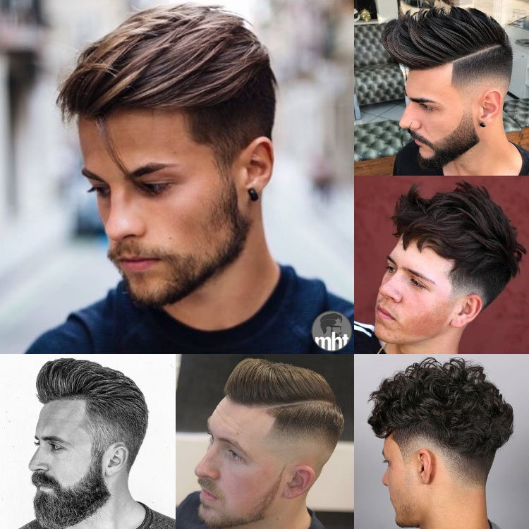 35 Short Sides Long Top Haircuts 2018
