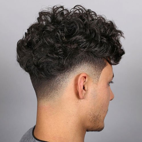 Short Sides and Back - Long, Thick Curly Hair Fade
