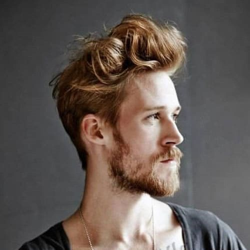 Classic Tapered Sides + Messy Pomp