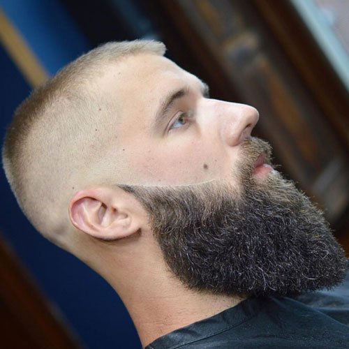 High and Tight + Long Full Beard