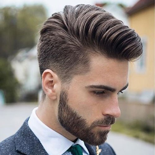 Low Taper Fade + Textured Modern Comb Over