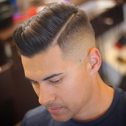 Captivating ... Modern Style And Simplicity. Short Pompadour