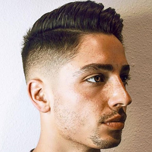 Side Part + Fade