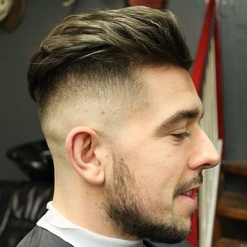 Textured Slick Back + Undercut