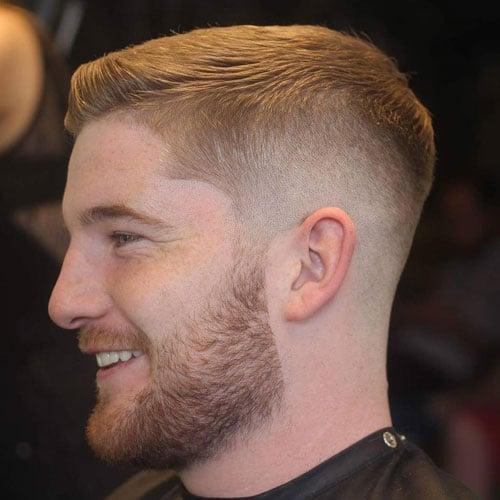 Comb Over Fade + Beard