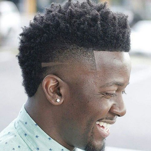 Great Drop Fade Afro