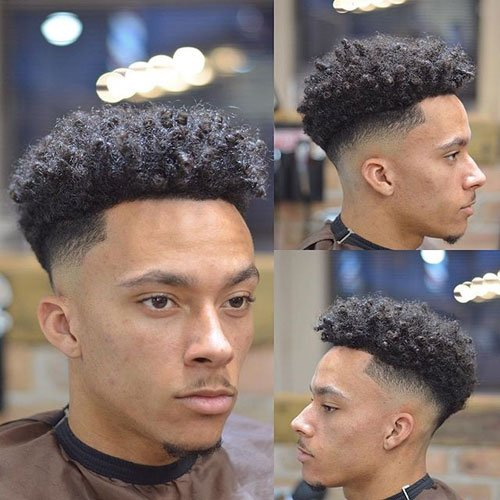 Fade Haircuts For Black Men Best Types Of Fades For