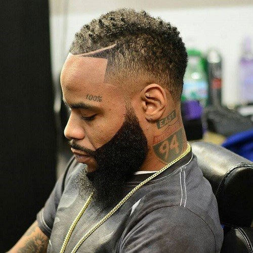 25 Fade Haircuts For Black Men Types Of Fades For Black