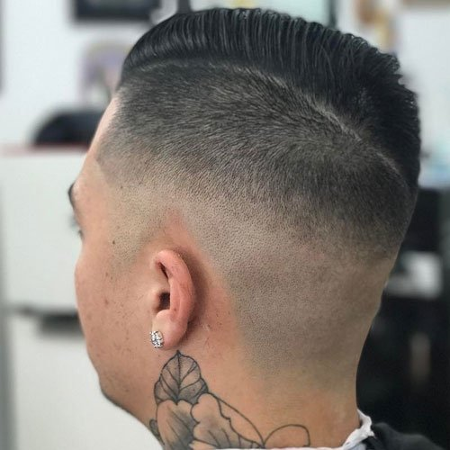 Undercut Comb Over