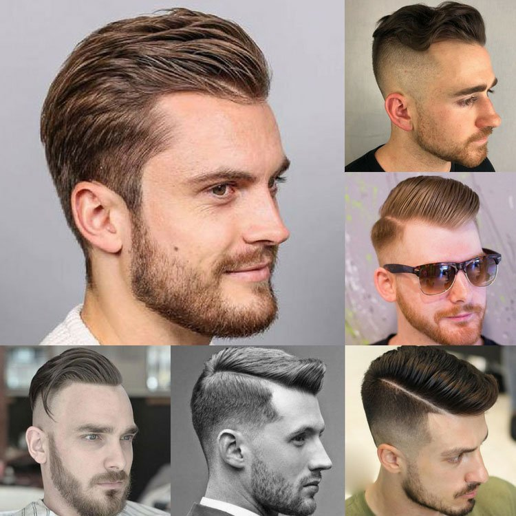 Haircuts For Men with A Receding Hairline