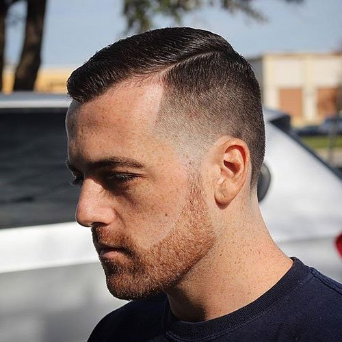 Men's Short Haircuts For Receding Hairlines
