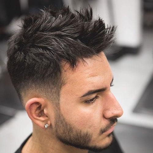 Messy Spiky Hair