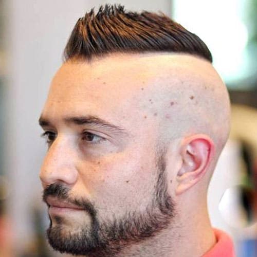 Receding Hairline Mohawk