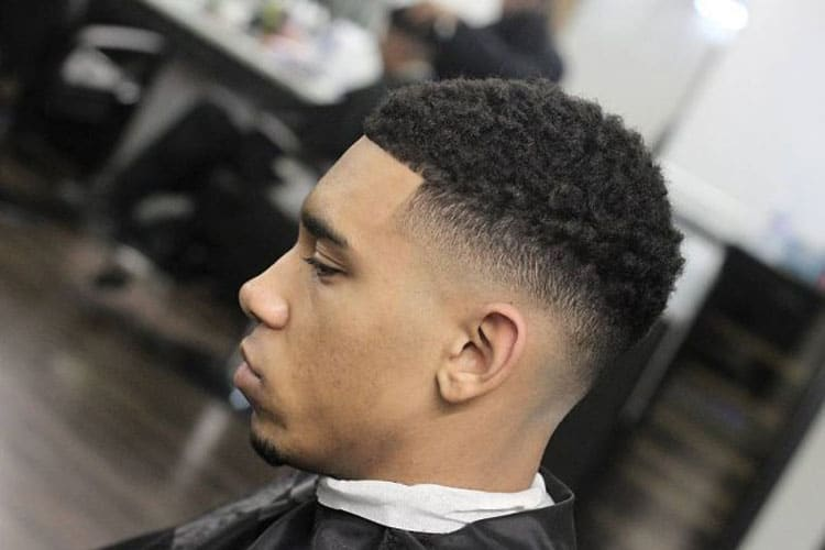 Afro Taper Fade Haircut Mens Hairstyles Haircuts 2019