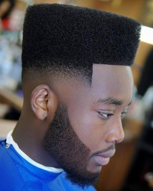 Flat Top with Beard