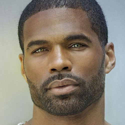 Full Stubble Beard For Black Men