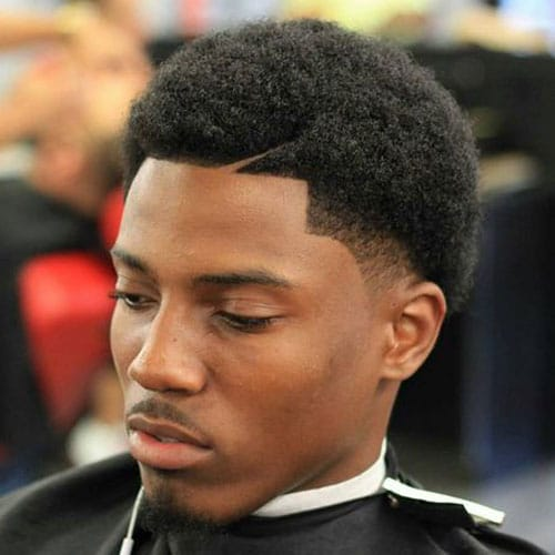 Afro Taper Fade Haircut