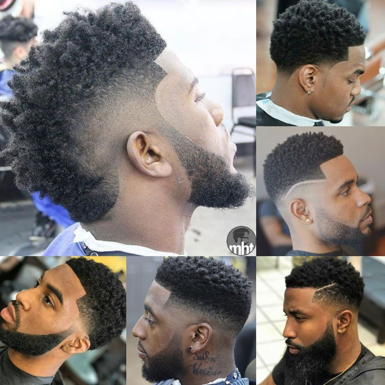 25 Fade Haircuts For Black Men Types Of Fades For Black Guys 2019