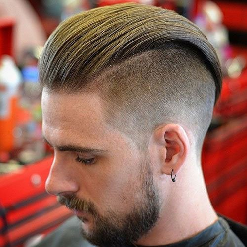 Slicked Back Undercut