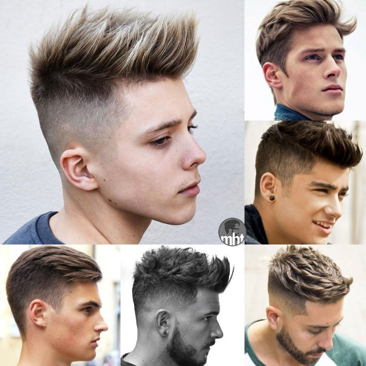 Teen Boy Haircuts   Cool Hairstyles For Teenage Guys
