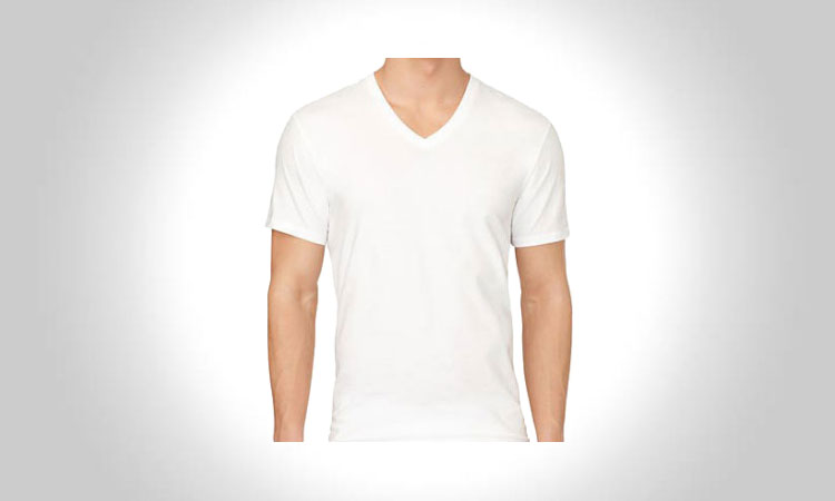 Calvin Klein Men's V-Neck T-Shirt
