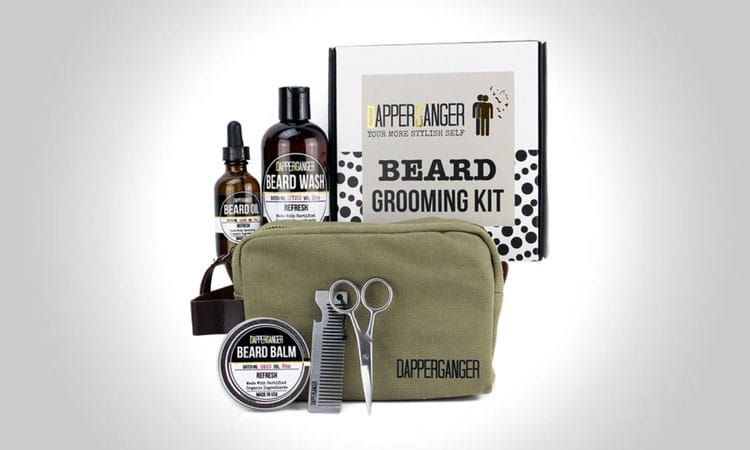 DapperGanger Beard Grooming Kit For Men