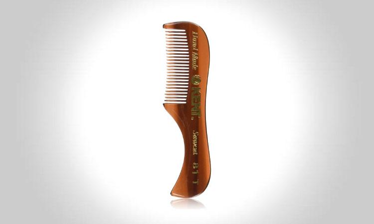 Kent 81T Men's Handmade Beard Mustache Comb