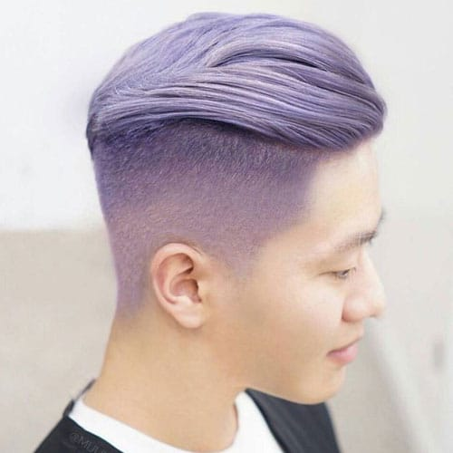 Lavender Hair Men