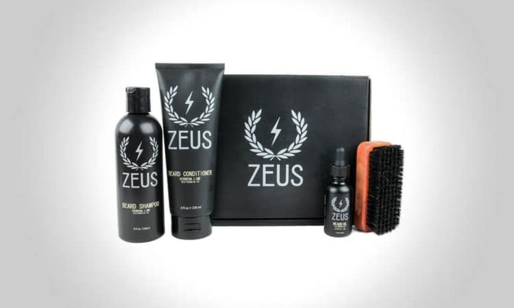 Zeus Deluxe Beard Grooming Kit For Men
