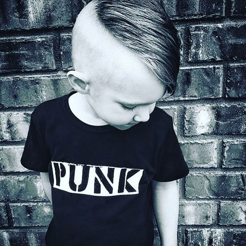 Cool Boys Haircuts - Shaved Sides + Long Comb Over