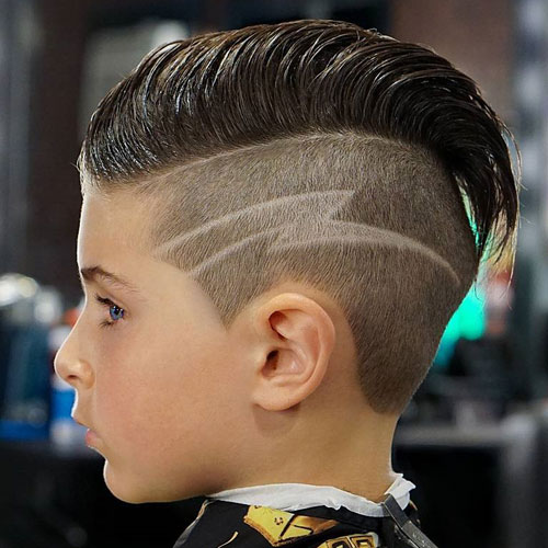 Slicked Back Undercut - Cool Haircuts For Boys
